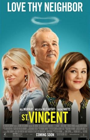 St. Vincent 2014 poster