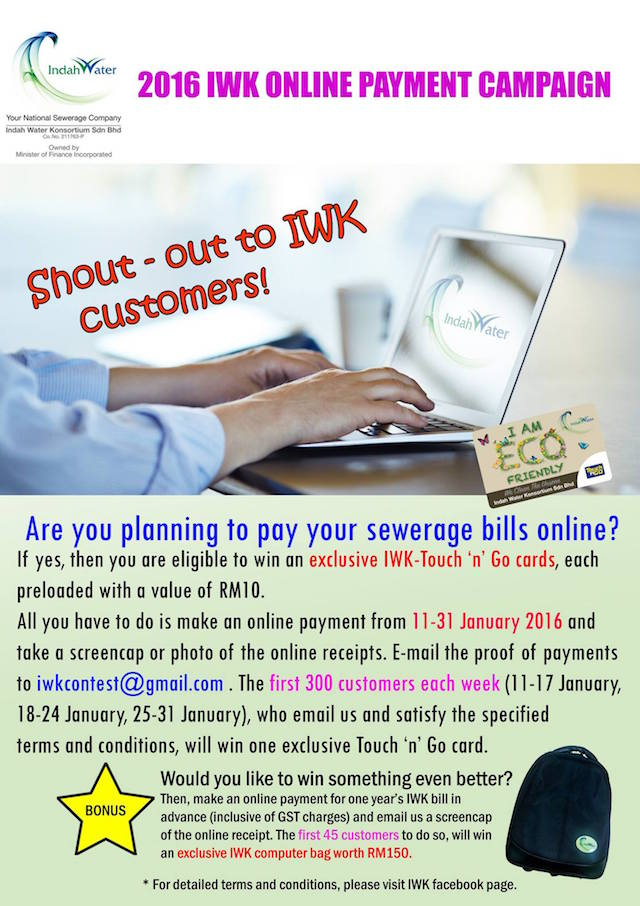 2016 IWK Online Payment Campaign