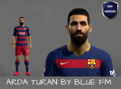 PES 2013 Arda Turan Face by Blue FM