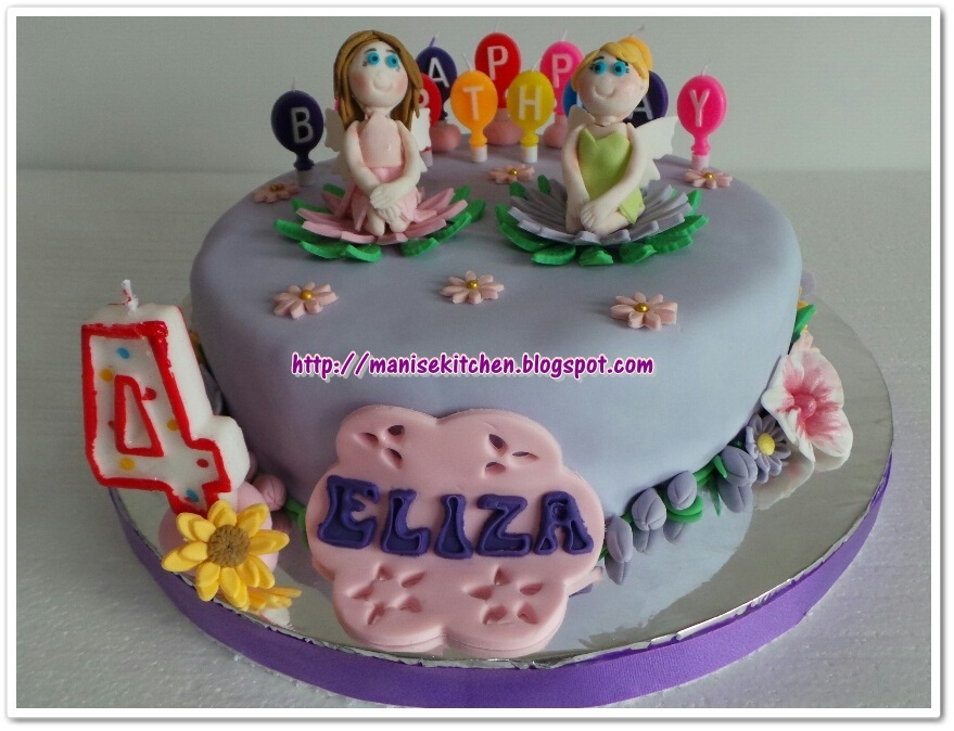 Manise Kitchen Tinkerbell Birthday Cake For Eliza
