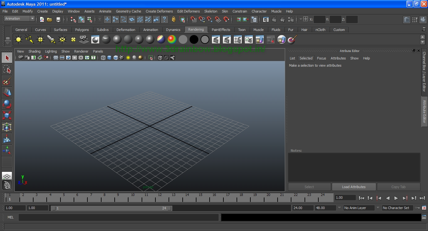 Maya Interface