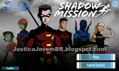 Shadow Mission, novo jogo online da Young Justice: Invasion