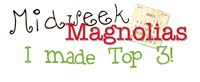 Yippee!! Top 3 for Magnolia Wedding Card