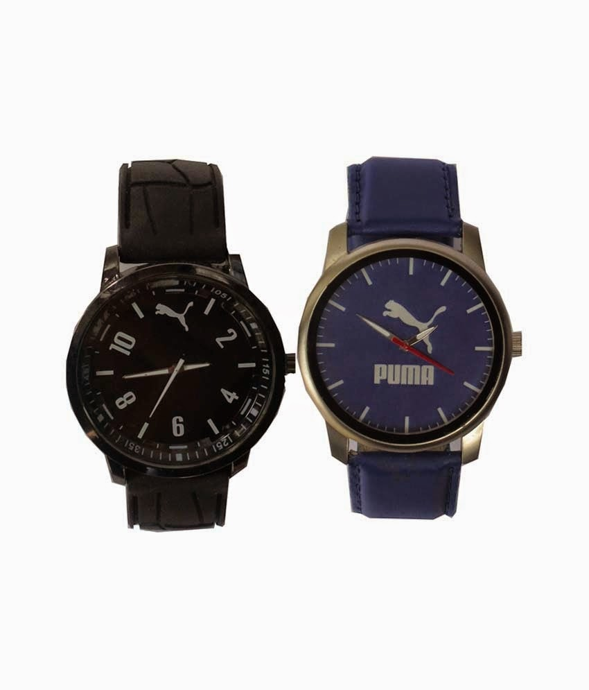 Buy Sport Black Rubber Watch For Men Rs. 499 only at Snapdeal.