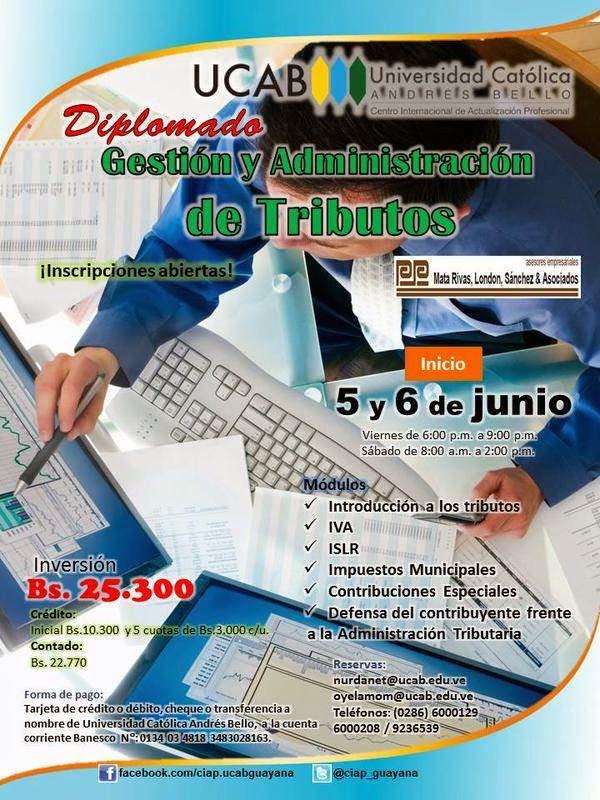 Diplomado de gestión y administración de tributos