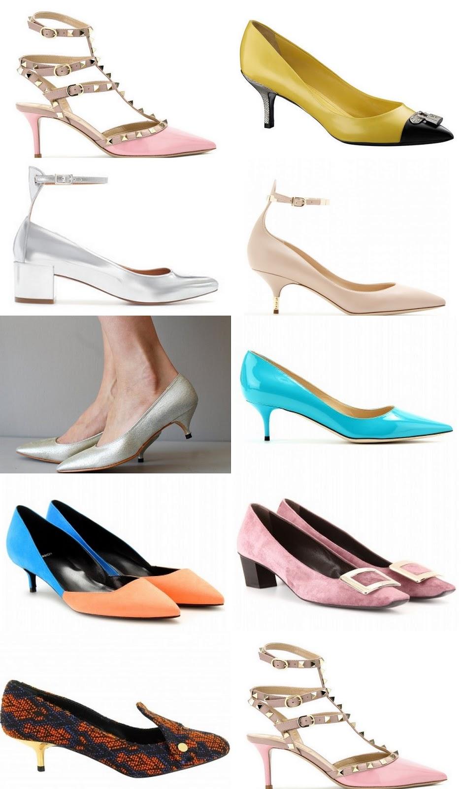 Tac n midi o kitten heel es lo mismo pero t estar s m s c moda con algo de estilo - Zapatos collage ...