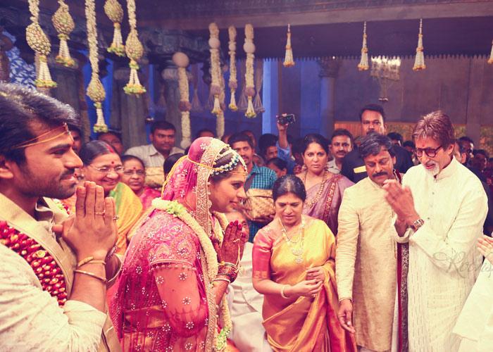 Celebrities At Ram Charan S Wedding Sangeet Songs Unlimeted