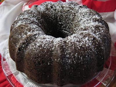 yummy Chocolate Chip cake