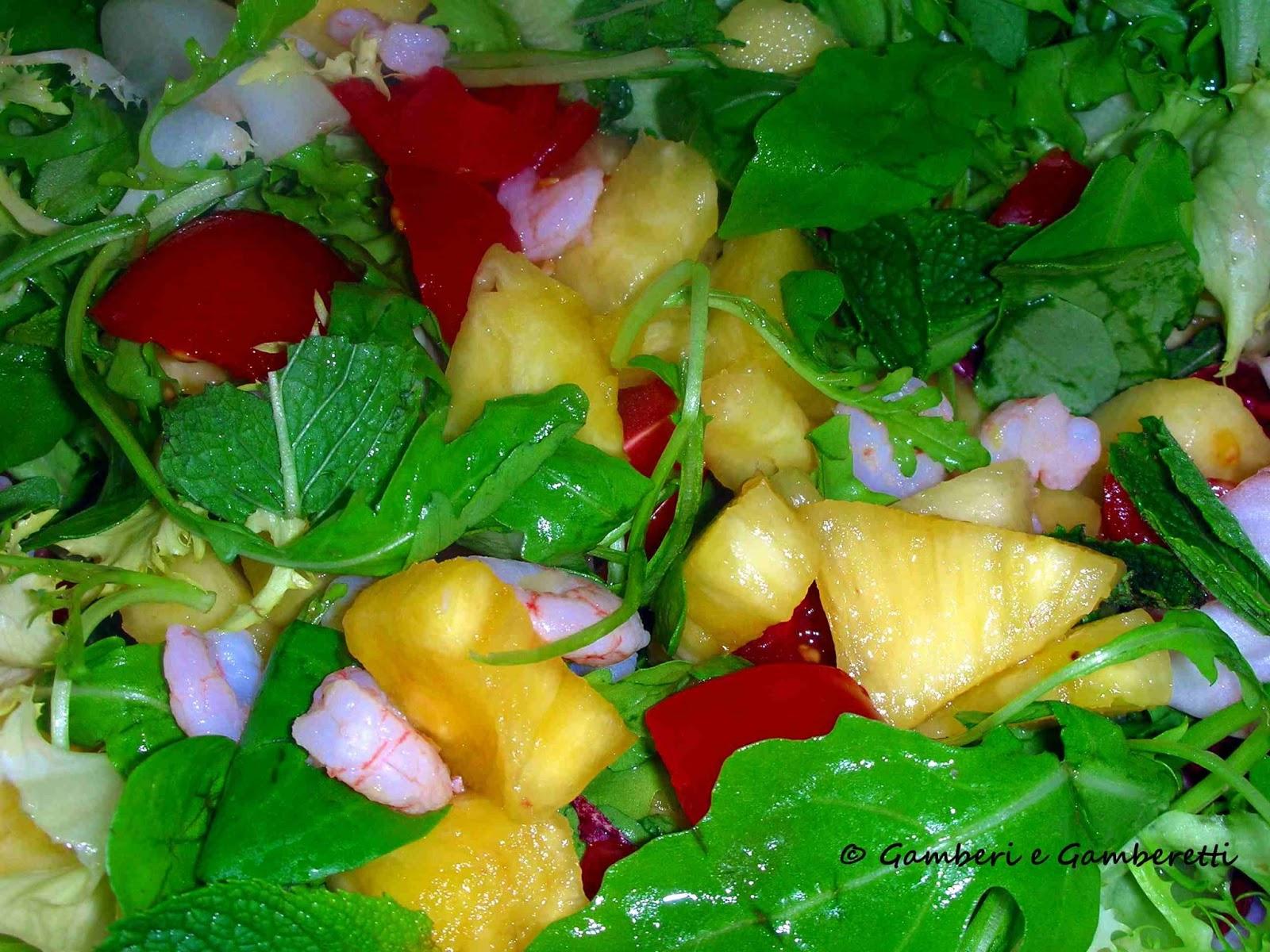 Saláta tenger gyümölcseivel, Íz és Itália