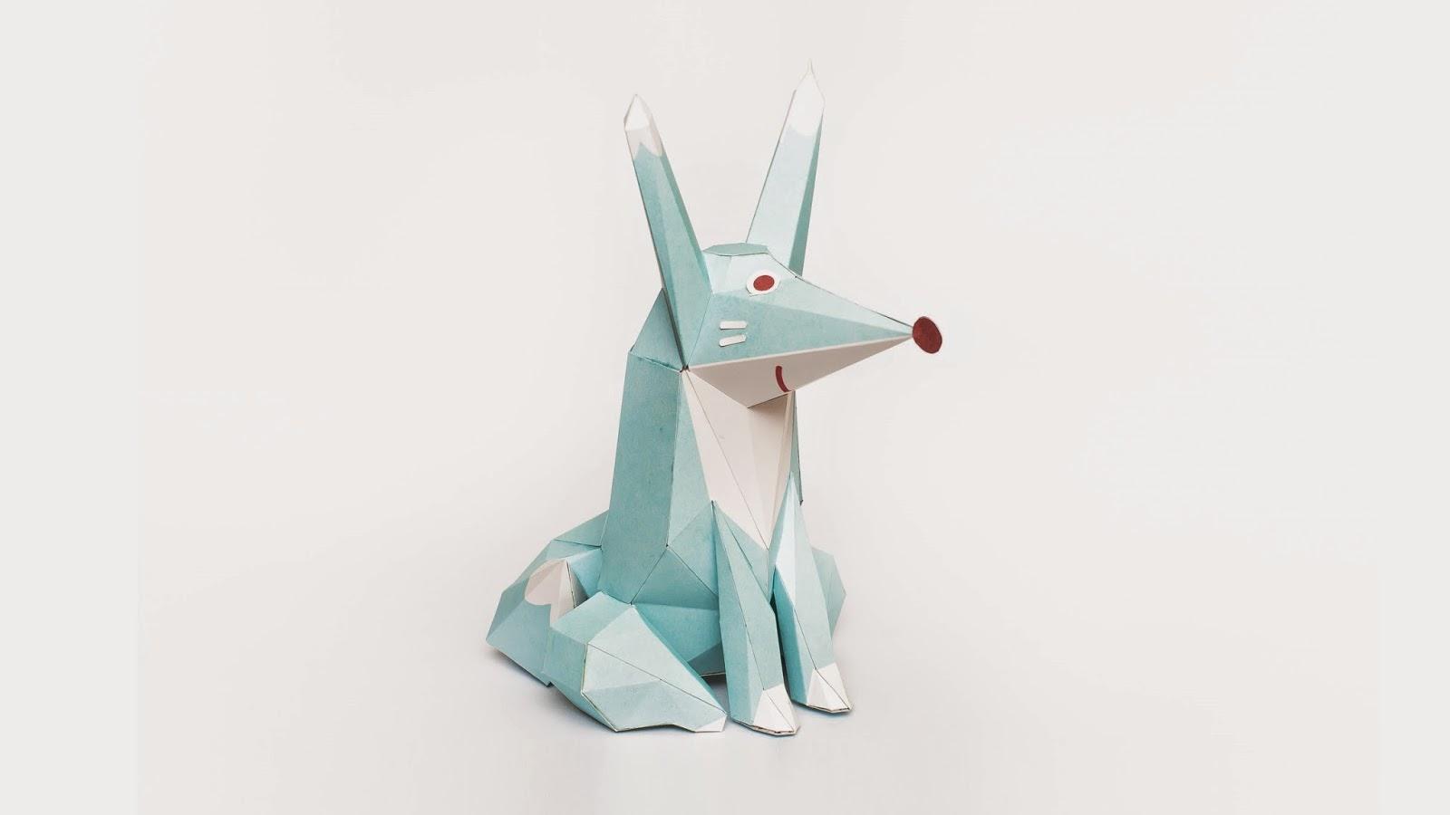 Cookie Run Ninetails Fox Form Papercraft