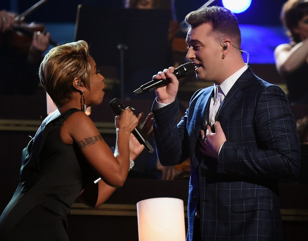 Sam Smith con Mary J. Blige