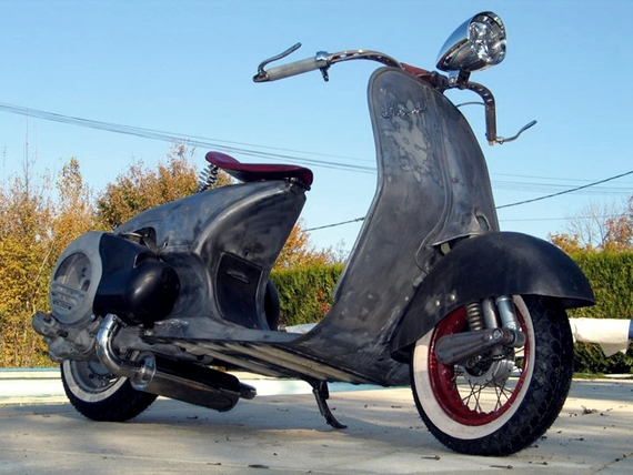 Foto Vespa Chopper Oto Trendz Motor Drag Modifikasi Gambar