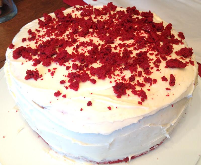 Red Velvet Cheesecake : Domesticated Duchess: Red Velvet Cheesecake
