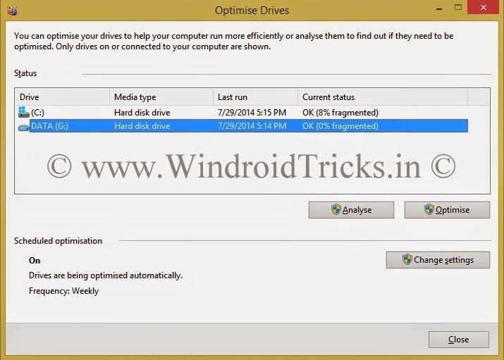 How to Defrag Hard Disk in Windows