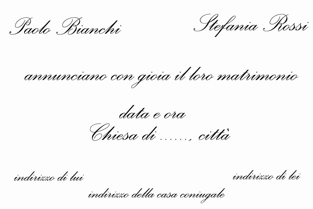 Matrimonio Gipsy Che Significa : Cosa scrivere nelle partecipazioni di nozze migliore