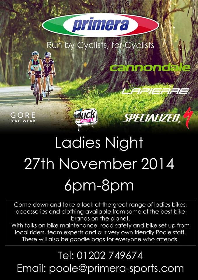 Primera Ladies Night at Poole Store