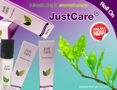 Just Care, Minyak Angin aromatherapy