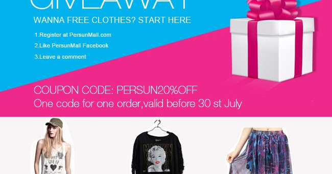Persunmall giveaways