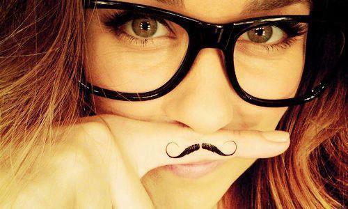cute girl glasses wallpaper - photo #18