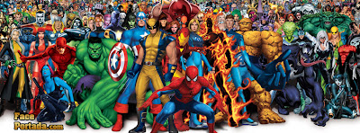 Marvel superheros comics