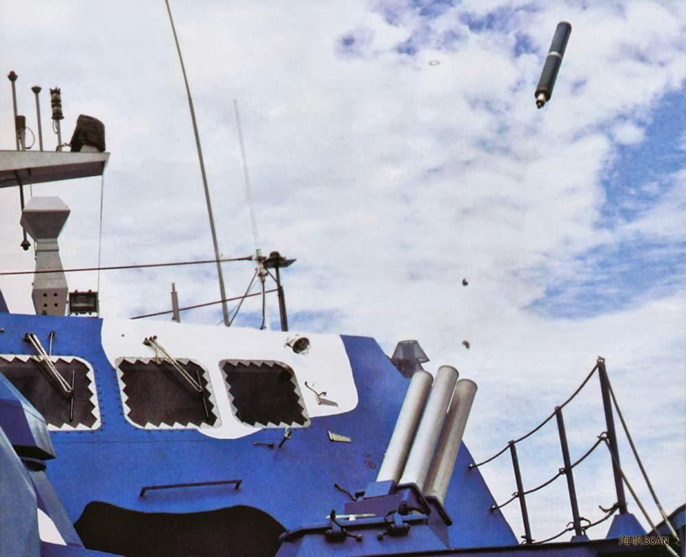 زورق الصواريخ Houbei Type+022+%2528Houbei+Class%2529+Fast+Attack+Missile+Craft+PAKISTAN+NAVY+EXPORT+stealth+features+wave-piercing+catamaran+hulls+The+People%2527s+Liberation+Army+Navy+%2528PLAN+or+PLA+Navy%2529+export++8+YJ-83+anti-ship+missi+%252812%2529