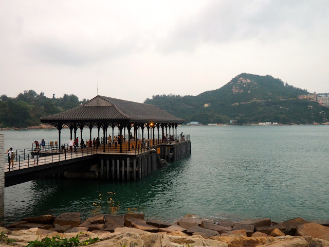 Blake Pier in Stanley harbour, Hong Kong