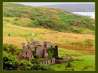 Clifden castillo en condado de Galway