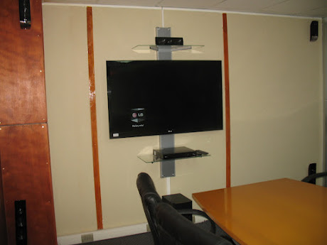Instalación de parlantes s/cables