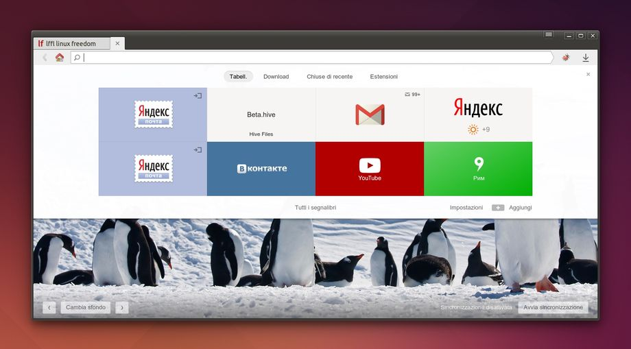 Yandex Browser in Ubuntu