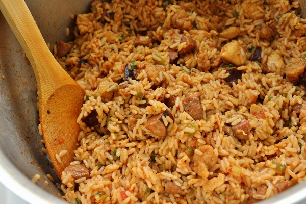 Mission Food Chicken And Andouille Jambalaya