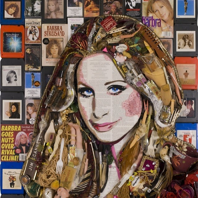 21-Barbra-Streisand-Jason-Mecier-Paintings-or-Sculptures-in-Portrait-Collage-www-designstack-co