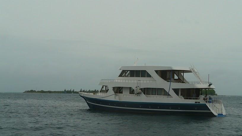 surfari maldivas nuestro barco