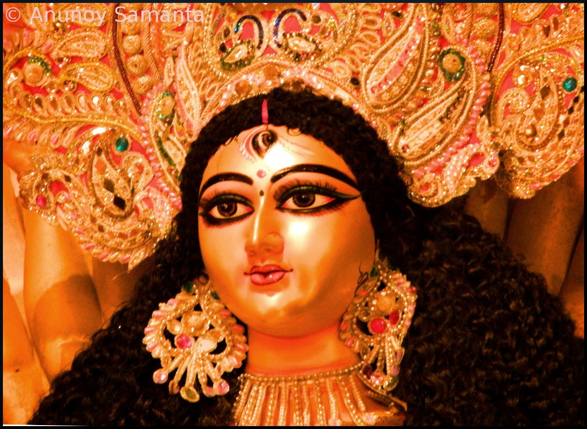 Durga Puja 2014 - Glimpses of Puja Pandals in Bardhaman