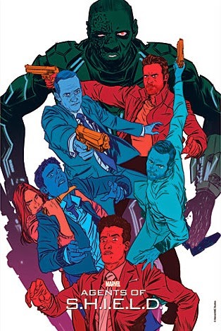 """Agents of SHIELD The Art of Evolution Print #8 - """"The Frenemy of My Enemy"""" by Nathan Fox"""