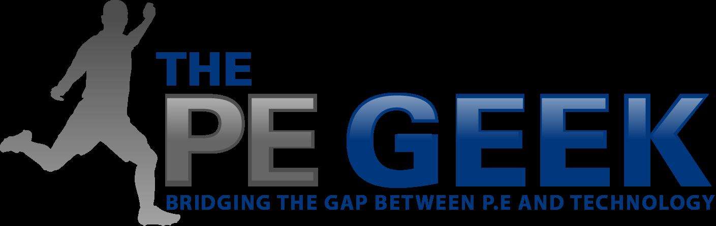 The PE geek logo