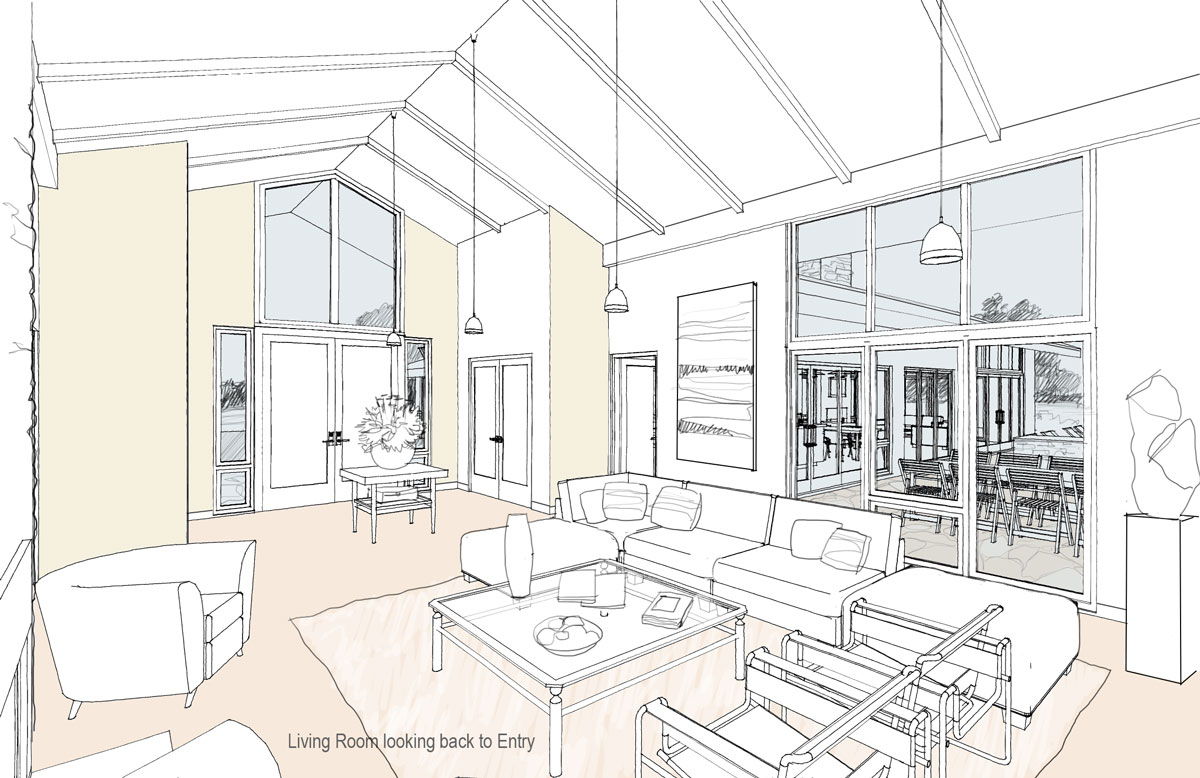 MCM DESIGN: Modern House Plan 1 Interior Views