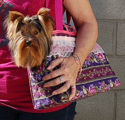 Hand Made Doggie Purse