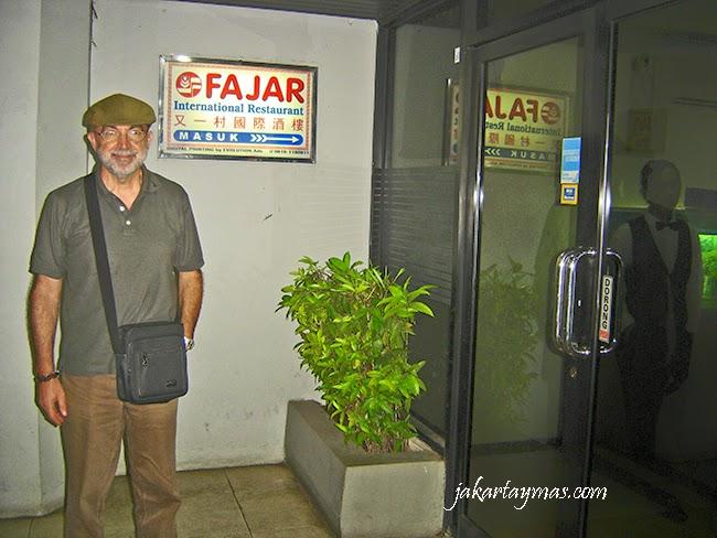 Restaurante Fajar en Yakarta