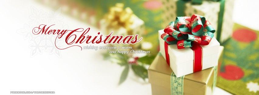 Ảnh bìa noel đẹp - Cover giáng sinh Merry Christmas facebook