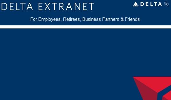 www.Dlnet.delta.com Delta Extranet Landing Page