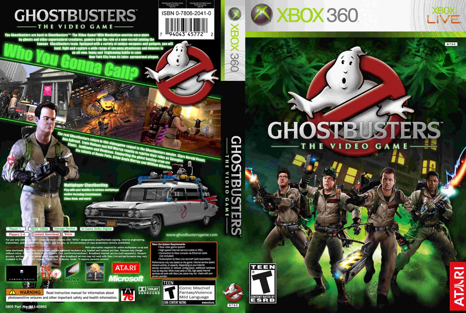 ghostbusters xbox 360 video game videos