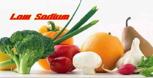Makanan Dengan Kandungan Sodium Rendah