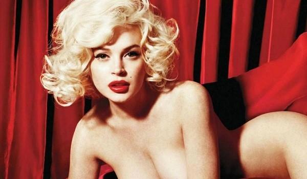Lindsay Lohan nue monroe photos