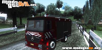 SA - Mercedes-Benz Actros Bombeiros