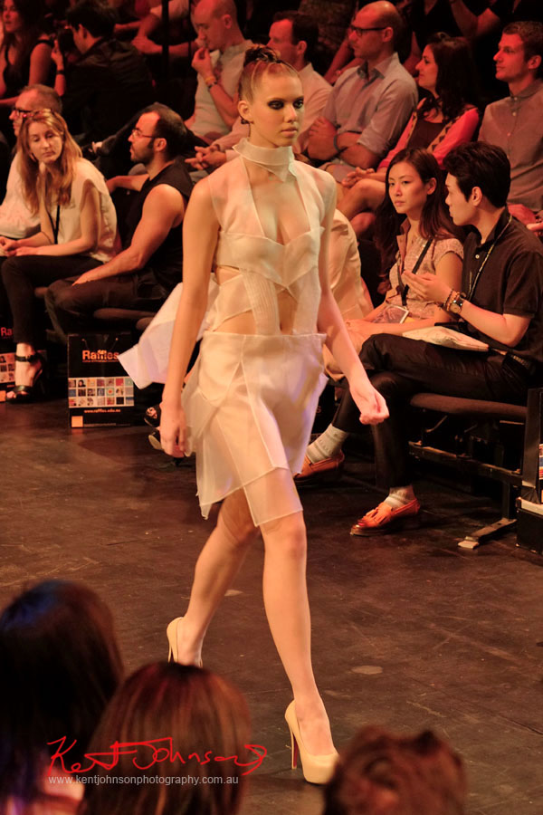 Chattida Prasartkul - Raffles College 2012 Graduate Fashion Show Carriageworks, Everleigh Sydney