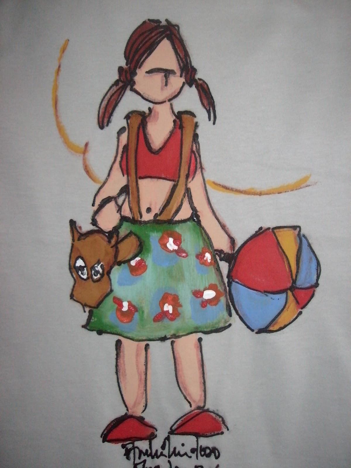 Camisas Pintadas A M  O   Tema Carnaval   Essas Representam Uma