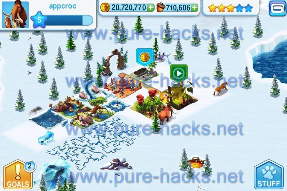 ice age village mod apk 2018