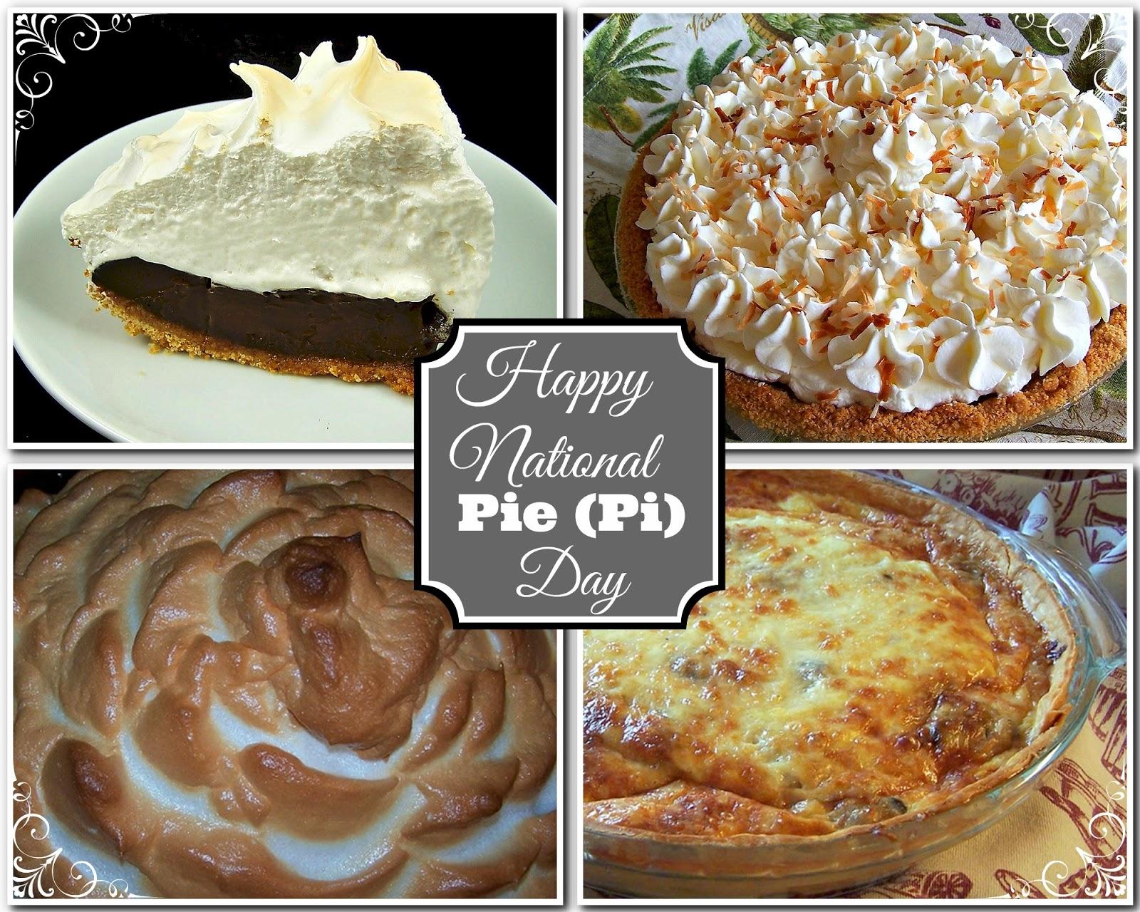 happy national pie (pi) day!