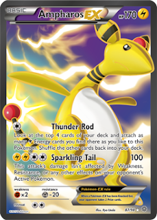 Ampharos EX Ancient Origins