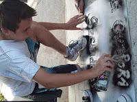 Murales por los 30 años de Democracia por La Cámpora 25 de Mayo